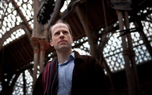 Contemplating the deep future, in light of the past: philosopher Nick Bostrom at the Oxford Museum of Natural History. Photo by Andy Sansom/Aeon Magazine