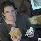 Hod Lipson and His Modular Robot Cubes
